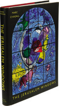 Books:First Editions, Marc Chagall The Jerusalem Windows text and notes by JeanLeymarie (New York: George Braziller, 1962), first American ed...