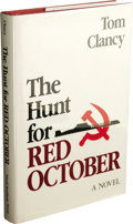 Books:First Editions, Tom Clancy The Hunt for Red October Naval Institute PressFirst Edition. (Annapolis: Naval Institute Press, 1984), f...