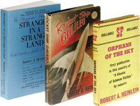 Three Classic Robert Heinlein Novels. Robert Heinlein Stranger in a Strange Land Uncorrected Proof. (New York: G