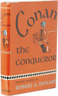 Books:First Editions, Robert E. Howard Conan the Conqueror. (New York: GnomePress, Inc., 1950), first edition, first printing, 255 pages,bur...