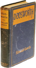 Books:First Editions, Sinclair Lewis Dodsworth. (New York: Harcourt, Brace &Co., 1929), first edition, 377 pages, dark blue cloth, 12mo(5.25...