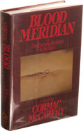 Books:First Editions, Cormac McCarthy Blood Meridian Or The Evening Redness in theWest. (New York: Random House, 1985), first edition, 337 pa...