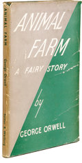 Books:First Editions, George Orwell Animal Farm A Fairy Story First UK Edition.(London: Secker & Warburg, 1945), first edition, 92 pages,...