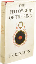 Books:First Editions, J.R.R. Tolkien: The Fellowship of the Ring, First Edition.(London: George Allen & Unwin Ltd., 1954), first edition,423...