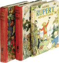 Autographs:Authors, The New Rupert Book and More Rupert Adventures First Editions.The New Rupert Book (London: Daily Express Publicatio...(Total: 3 )