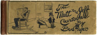 The Mutt and Jeff Cartoons by Bud Fisher (The Ball Publishing Company, 1910) Condition: GD