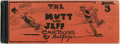 Memorabilia:Comic-Related, The Mutt and Jeff Cartoons by Bud Fisher Book Three (The Ball Publishing Company, 1912) Condition: GD....