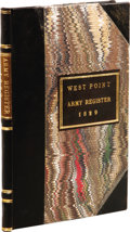 Books:Non-fiction, Official Army Register for 1829 Including Staff Assignmentsto West Point Military Academy. (Washington: Adjutant Ge...