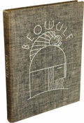 Books:Fiction, Beowulf Limited Edition Illustrated by Rockwell Kent (New York: Random House, 1932), limited to 950 copies, 146 pages, f...