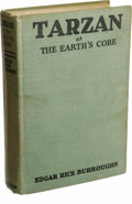 Books:Fiction, Edgar Rice Burroughs Tarzan at the Earth's Core (New York:Metropolitan Books, Inc., 1930), first edition, 301 pages, 12...