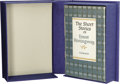 Books:Fiction, Inscribed Ernest Hemingway The Short Stories of ErnestHemingway (New York: Charles Scribner's Sons, 1954), firstprinti...