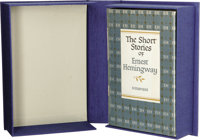 Inscribed Ernest Hemingway The Short Stories of Ernest Hemingway (New York: Charles Scribner's Sons, 1954), first printi...
