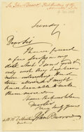 Autographs:Authors, 19th Century English Authors Autograph Collection consisting ofapproximately 30 signed items originally purchased in a lot ...(Total: 30 )