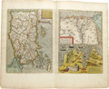 Miscellaneous:Maps, 1595 Abraham Ortelius Handcolored Map of Turkey, Egypt, and Carthage from his monumental work Theatrum Orbis Terrarum (T...
