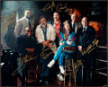 Miscellaneous Collectibles:General, Misc. Sports Stars Multi Signed Oversized Photograph....