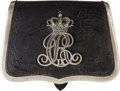 Militaria:Uniforms, Beautiful Late 19th Century Danish Officers' Dress Belt Pouch....