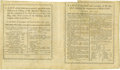 Military & Patriotic:Revolutionary War, Revolutionary War British Imprint, A LIST OF THE KILLED ANDWOUNDED, AND THOSE MADE PRISONERS OR MISSING.... Two pages, ...