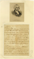 Autographs:Statesmen, Continental Congress and Articles of Confederation SignersCollection. Includes: Walter Livingston- New York member of t...(Total: 7 )