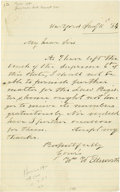 Autographs:Statesmen, New England Governors & Politicians Autograph Collectionconsisting of approximately 45 letters and documents from 1776 to1... (Total: 45 )