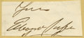 Autographs:Celebrities, 19th Century Autograph Collection S-Z consisting of numerous cutsignatures lightly mounted to folders and arranged by lette...(Total: 80 )