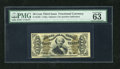 Fractional Currency:Third Issue, Fr. 1335 50c Third Issue Spinner PMG Choice Uncirculated 63EPQ But for the top margin being a little small this appears to b...