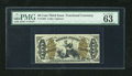 Fractional Currency:Third Issue, Fr. 1362 50c Third Issue Justice PMG Choice Uncirculated 63EPQ. A superlative example of this green back Justice type that h...