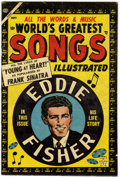 Golden Age (1938-1955):Miscellaneous, World's Greatest Songs #1 (Atlas, 1954) Condition: FN+....