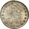 Bust Half Dollars, 1828 50C Square Base 2, Small 8, Large Letters MS64 PCGS. O-115,R.2....