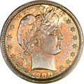 Proof Barber Quarters, 1900 25C PR66 PCGS. CAC....