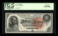 Large Size:Silver Certificates, Fr. 242 $2 1886 Silver Certificate PCGS Choice New 63PPQ....