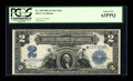 Large Size:Silver Certificates, Fr. 258 $2 1899 Silver Certificate Star PCGS Choice New 63PPQ....