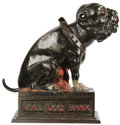 "Antiques:Toys, . ""Bull Dog Bank"" Mechanical Bank..."