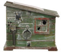 Antiques:Toys, Cabin Mechanical Bank...