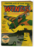 Golden Age (1938-1955):War, Wings Comics #1 (Fiction House, 1940) Condition: GD....