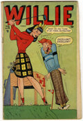 Golden Age (1938-1955):Humor, Willie Comics #15 (Marvel, 1948) Condition: VG-....