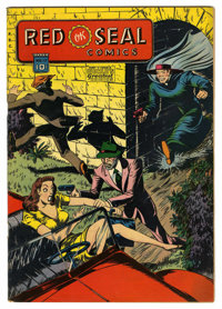 Red Seal Comics #17 (Chesler, 1946) Condition: FN