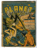 Golden Age (1938-1955):Science Fiction, Planet Comics #19 (Fiction House, 1942) Condition: FR....