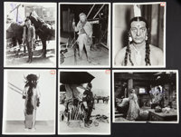"The Plainsman (Paramount, 1936). Wardrobe & Position Photos (32) (8"" X 10""). Western. ... (Total: 32 I..."