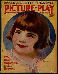 """Picture-Play Magazine (Street and Smith, May 1924). Magazine (Multiple Pages, 8.75"""" X 11.25""""). Miscellaneous..."""