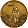 Transportation:Space Exploration, Buzz Aldrin's Personal Apollo 11 Commemorative Medallion Struck byNorth American Rockwell. 62mm. Heavy brass. North America...(Total: 1 Item)