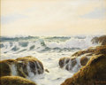 Fine Art - Painting, American:Modern  (1900 1949)  , ROBERT WILLIAM WOOD (American 1899-1979). Sparkling Sea. Oilon canvas. 24 x 30-1/8 inches (61.0 x 76.5 cm). Signed lowe...