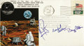 Transportation:Space Exploration, Apollo 11 Signed Flown Commemorative Cover with Notation by Buzz Aldrin. Neil Armstrong, Michael Collins, and Buzz Aldrin ha... (Total: 1 Item)