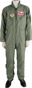 Explorers:Space Exploration, Colonel Buzz Aldrin, United States Air Force, Flyer's Summer Coveralls. Worn by Aldrin at a reunion of the 22nd Fighter Squa... (Total: 1 Item)