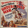 """Movie Posters:Western, Undercover Man (Paramount, 1942). Six Sheet (81"""" X 81""""). Western.. ..."""