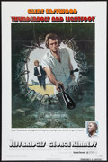 "Movie Posters:Crime, Thunderbolt and Lightfoot (United Artists, 1974). One Sheet (27"" X41"") Style A. Flat Folded. Crime.. ..."