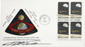 "Explorers:Space Exploration, Bill Anders Signed Apollo 8 First Day Cover with EarthrisePhotograph. First day cover signed ""Bill Anders"" under theca... (Total: 1 Item)"