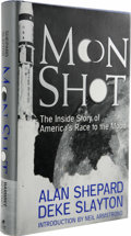 Books:Signed Editions, Alan Shepard & Deke Slayton: First Edition of Moon Shot Signed by Alan Shepard and a First Day Cover Signed by Deke Sl... (Total: 1 Item)