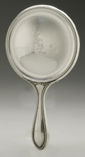 Other:American, AN AMERICAN SILVER HAND MIRROR. Foster & Bailey, Providence,RI, Late Nineteenth Century. Monogram to the reverse KSL,...