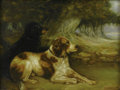 Fine Art - Painting, European:Modern  (1900 1949)  , SIR ERNEST ALBERT WATERLOW (British, 1850 - 1919). Man's BestFriend. Oil on board. Signed and dated lower right SirE...
