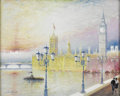 Fine Art - Painting, European:Contemporary   (1950 to present)  , LUCIANO RAMPASO (Italian, b. 1934). Venice. Oil on canvas.30 x 24in.. Signed lower left. From the collection of Rich...